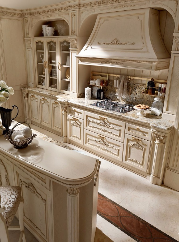 Kuchen Mortini Mobili Klassisch Luxurios